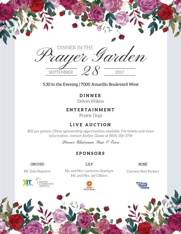 Prayer Garden 2017